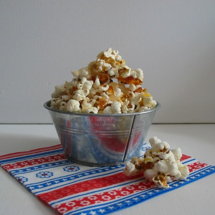 Recette du Pop Corn au Caramel