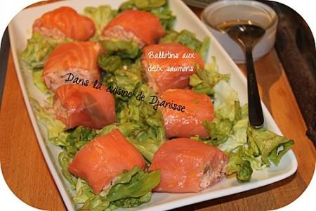 Préparer Noël et Nouvel An avec un petit budget, Ballotins Aux 2 Saumons