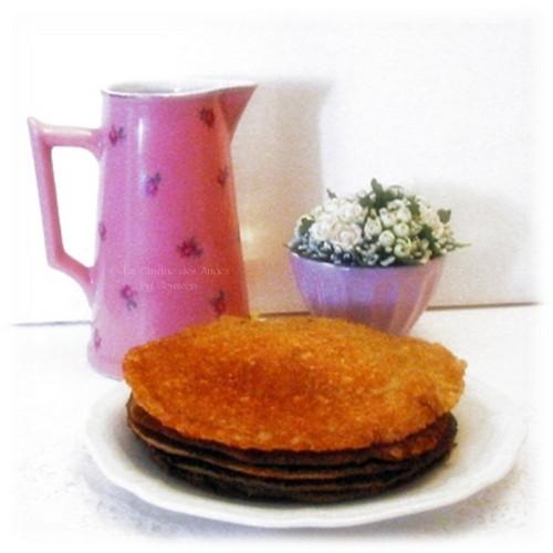 recettte de crêpes à IG Bas, farine complète, son d'avoine, Index Glycémique Bas, Vanille et Eau de Fleur d'Oranger