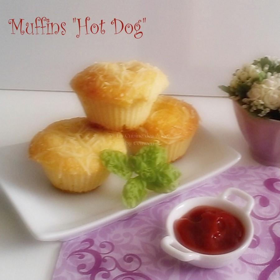 Muffins «Hot Dog»