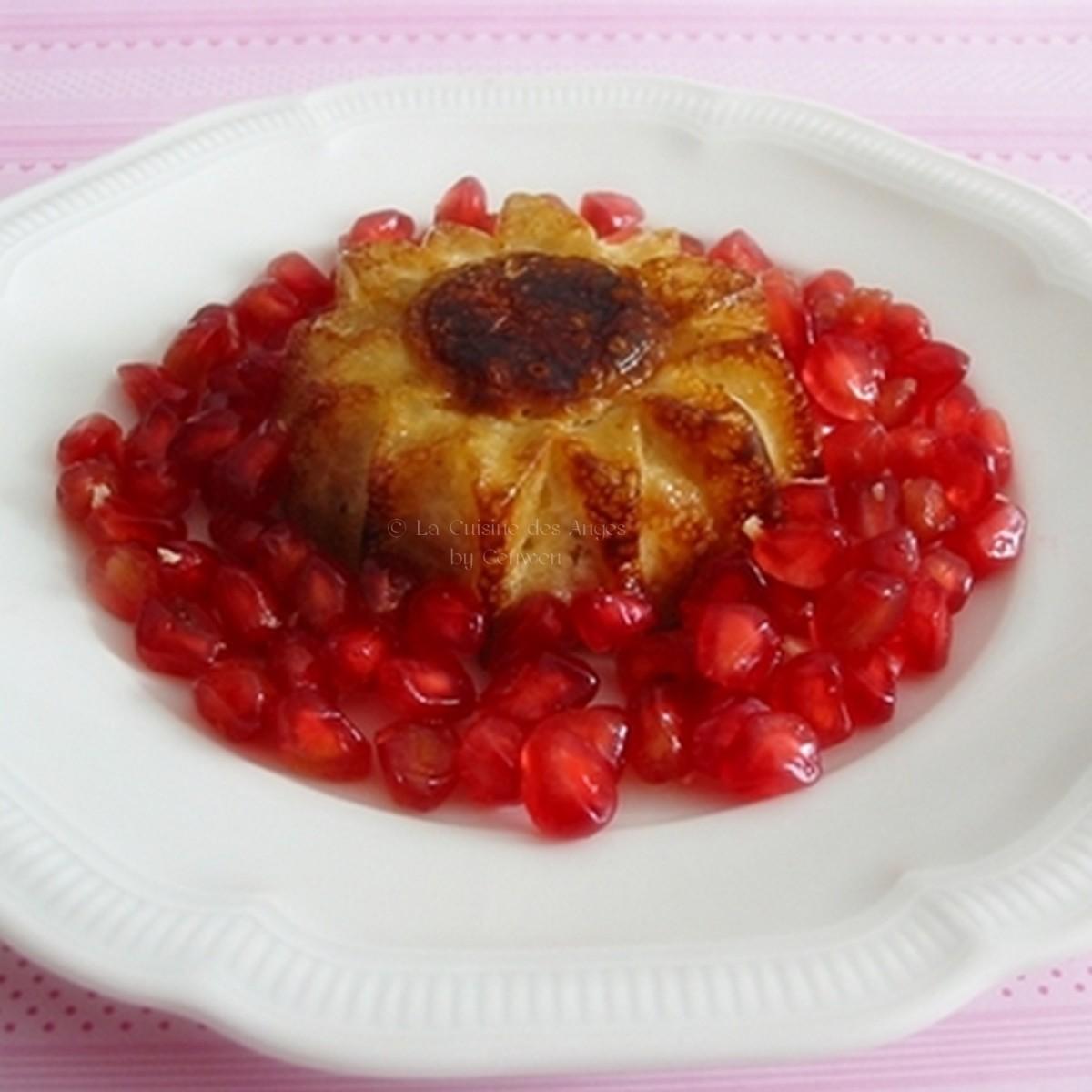 Petits puddings de tapioca la vanille et aux pommes la cuisine des anges - La cuisine des petits ...