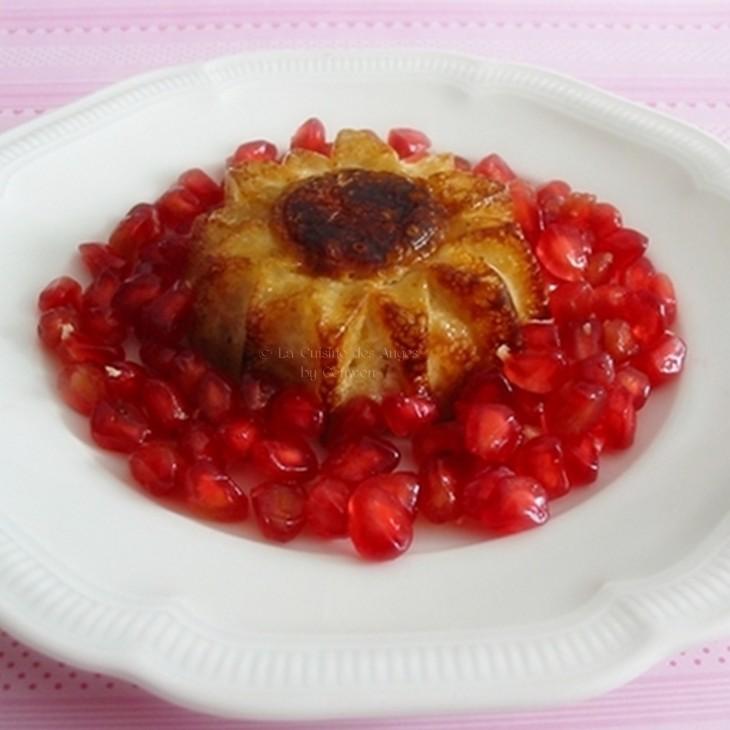 recette de dessert IG Bas, au tapioca ou perles du japon, avec du lait de soja, des pommes et de la vanille