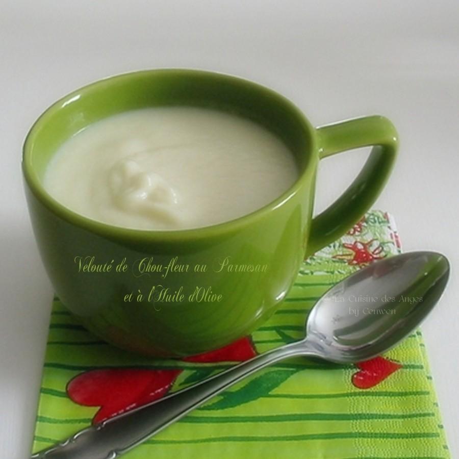 Velouté de Chou-Fleur au Parmesan et à l'Huiled'Olive