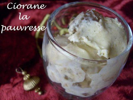 La Cuisine des Anges : Glace customisée aux marrons  du blog La Cuisine de Quat'Sous