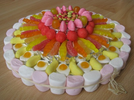 La Cuisine des Anges : Gâteau de bonbons   du blog La Cuisine de Chris