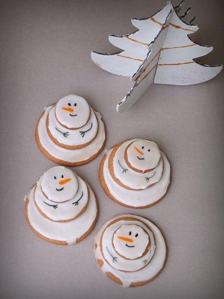 La Cuisine des Anges : Bonhommes de neige à croquer !  du blog Marie's Cooking