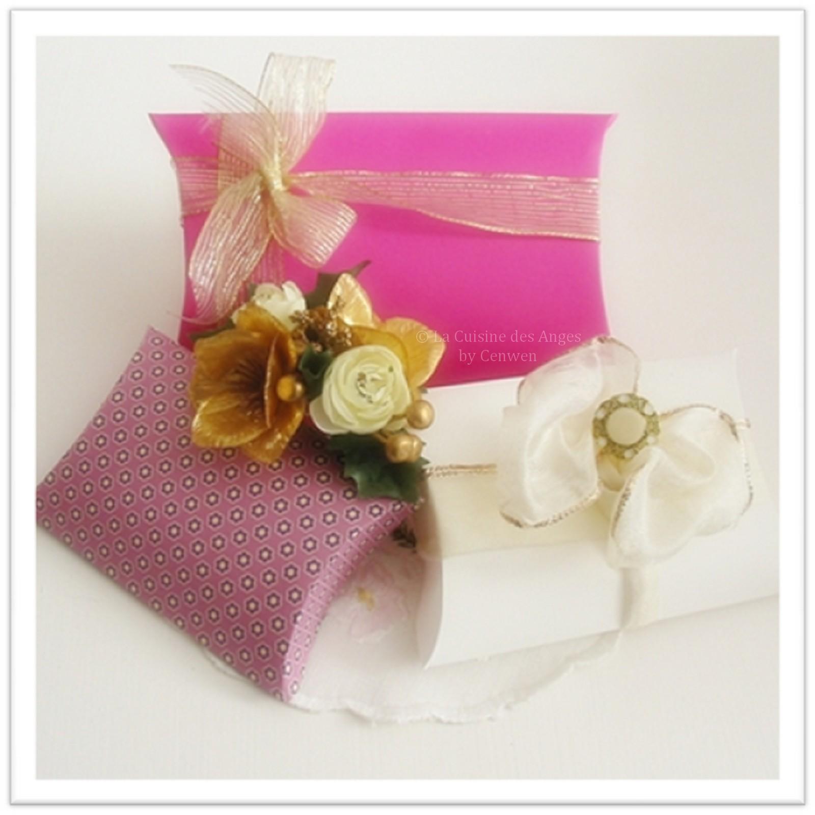 Diy faire de jolies petites pochettes emballage cadeaux - Faire une pochette cadeau ...
