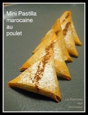 La Cuisine des Anges  : tuto pliage feuilles de brick du blog La Francesa aux Fourneaux