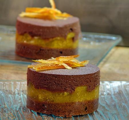 La Cuisine des Anges : Le chocolat amoureux de l'orange  du blog Du Miel et du Sel