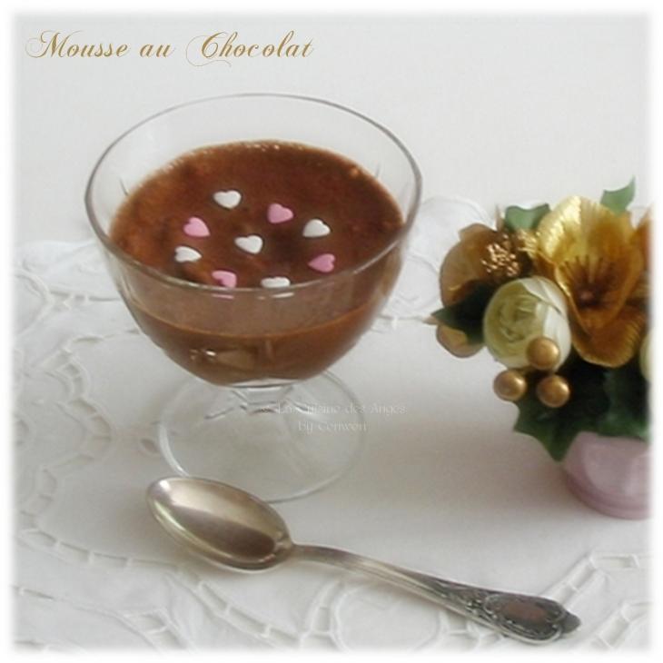 recette de dessert, Mousse au Chocolat