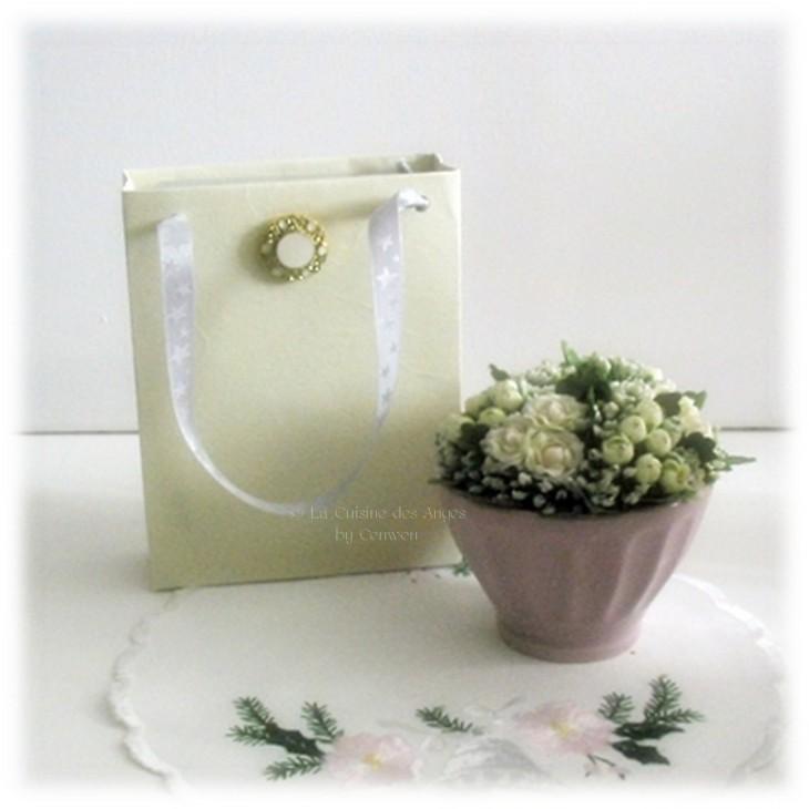 Comment faire de jolis petits sacs emballage-cadeaux, DIY, patron gratuit à télécharger