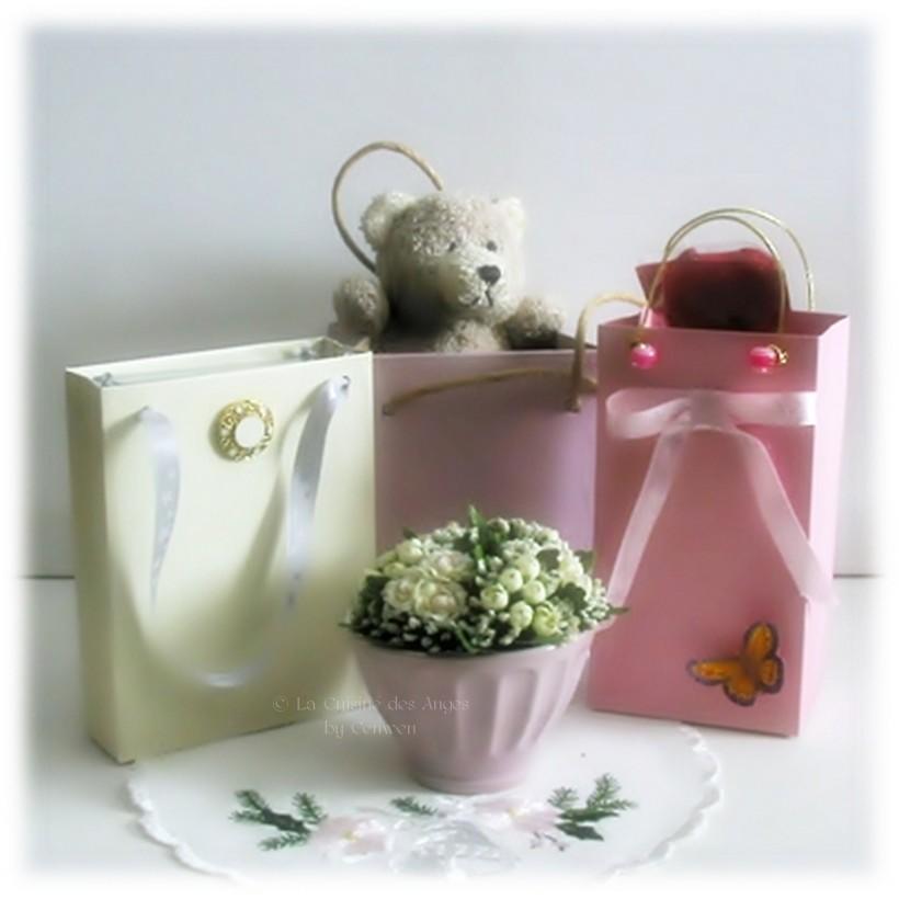 Diy faire de jolis petits sacs emballage cadeaux la - Comment emballer des cadeaux ...