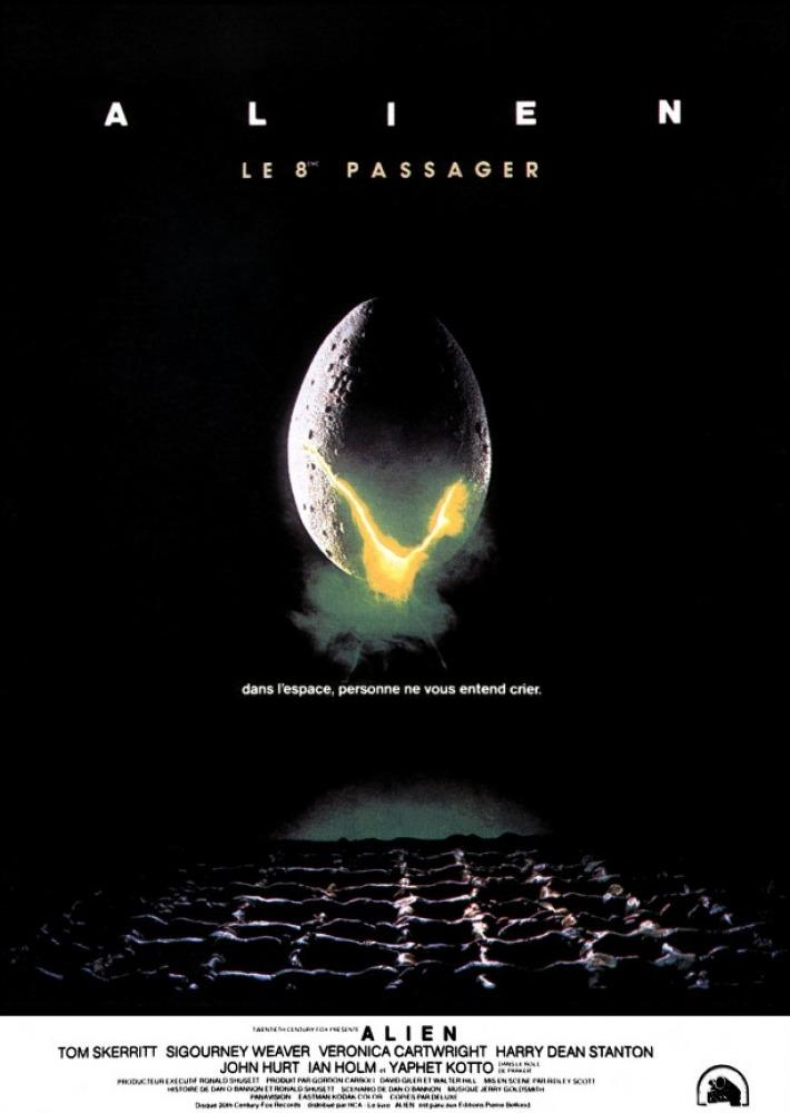 affiche du film Alien, le 8ème passager