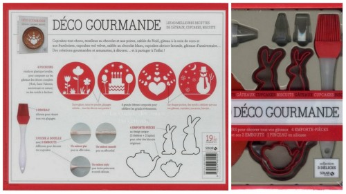 coffret Déeco Gourmande publie aux Editions Solar