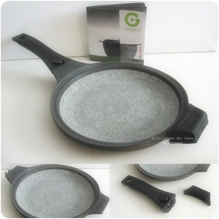 poêl en granit de 24 cm de diamètre Granystil France