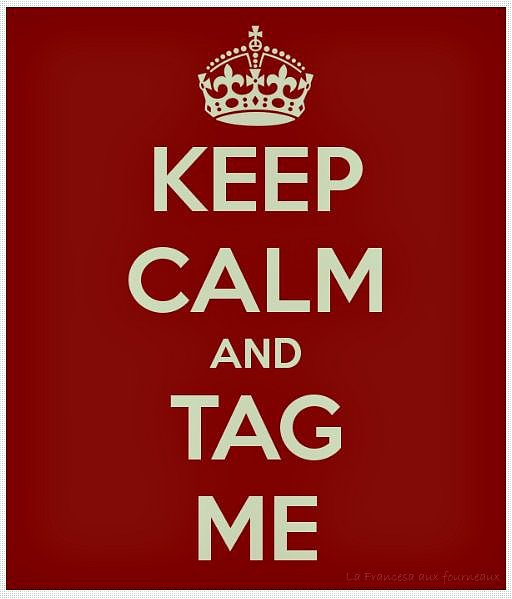 Logo Keep calm and tag me !