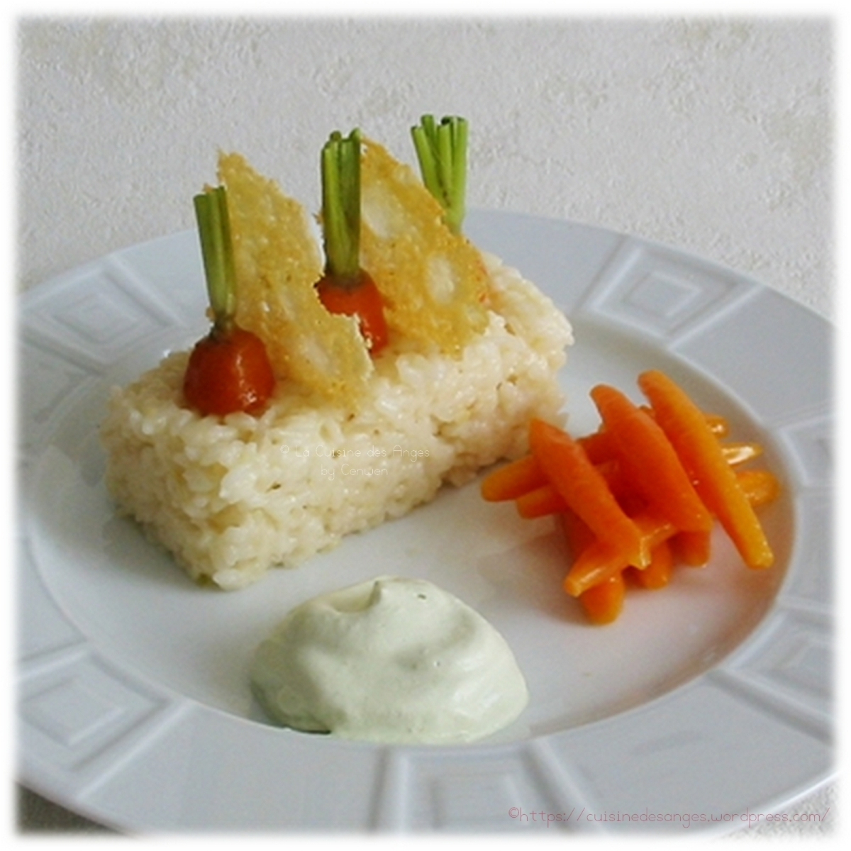 carottes tourn es et glac es risotto au parmesan la. Black Bedroom Furniture Sets. Home Design Ideas