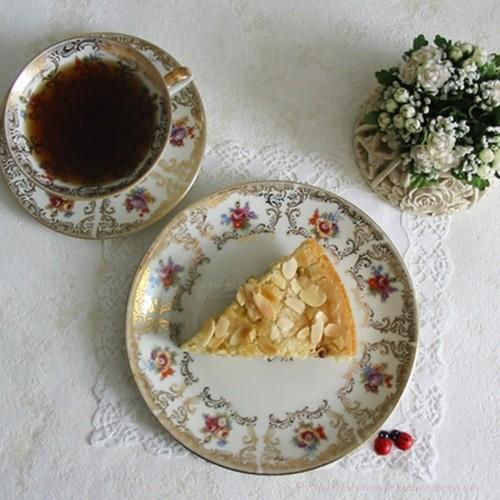 recette de gâteau facile aus framboises avec des zeste de citron