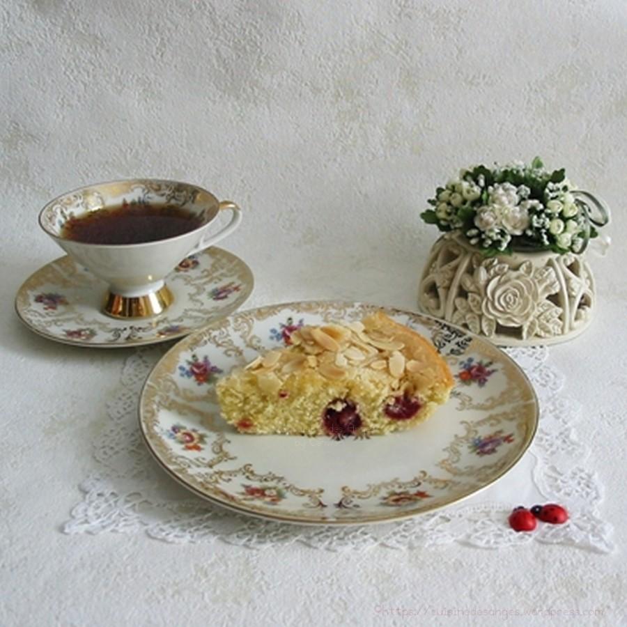 recette de gâteau aux framboises, recette simple et rapide