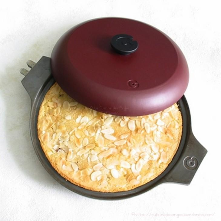 recette facile de gâteau aux framboise, cuit dans une poêle Graistyl France