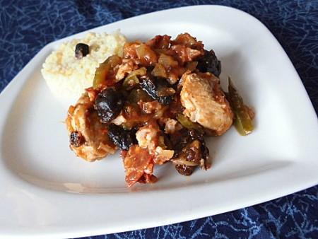 La Cuisine des Anges, recettes créatives pour petits budgets  :Sauté de dinde au chorizo  de Michèle du joli blog ♥ Plaisirs de la Maison ♥