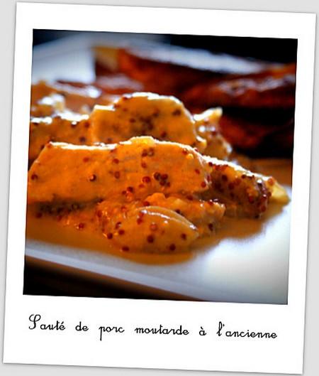 La Cuisine des Anges, recettes créatives pour petits budgets : Sauté de Porc à la Moutarde et Frites XXL  de Carole du joli blog ♥ Parce que la vie continue ♥