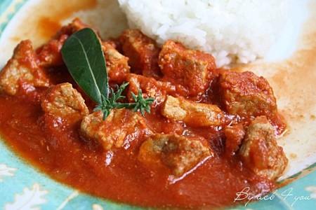 La Cuisine des Anges, recettes créatives pour petits budget :  Sauté de Porc au Paprika  par Annie du joli bog ♥ By acb 4 you ♥