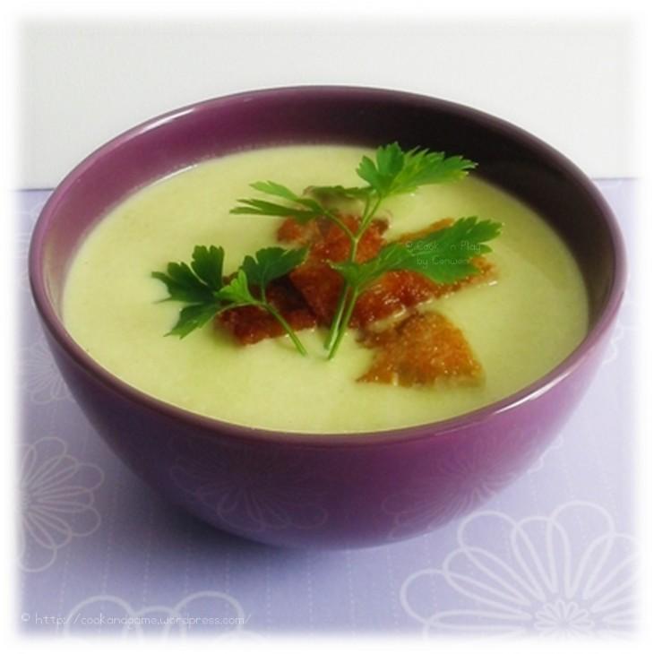 recette simple, facile et gourmande de Soupe aux Poireaux et Pommes de Terre avec de la crème fraiche