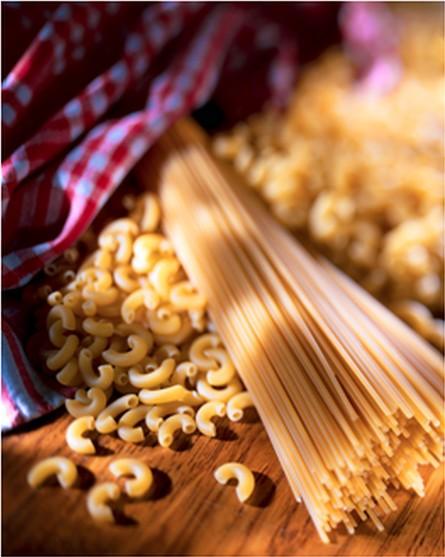 pâtes, spaghettis, nouilles, coquillettes