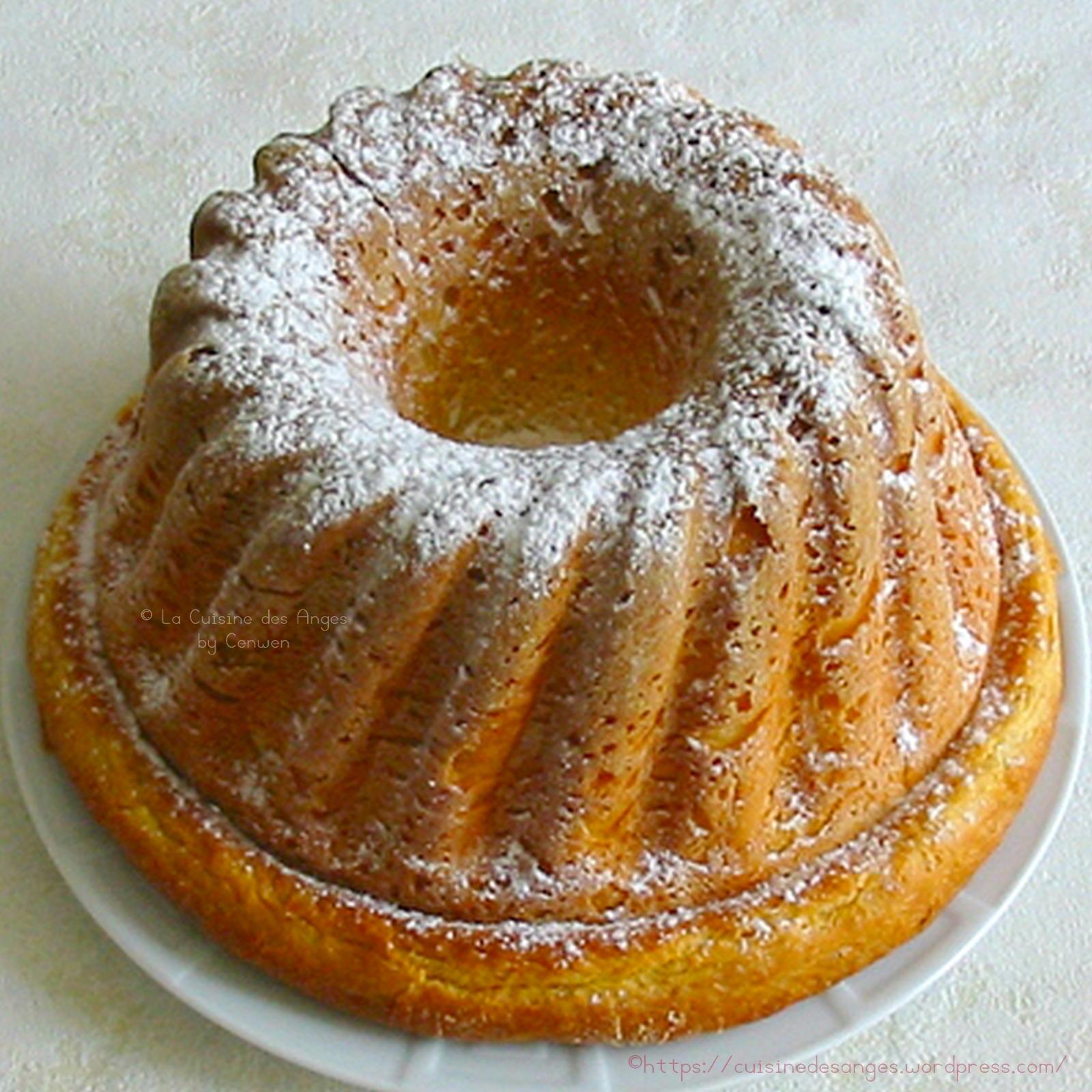 Kouglof la cuisine des anges - Kouglof alsacien recette en video cuisine ...