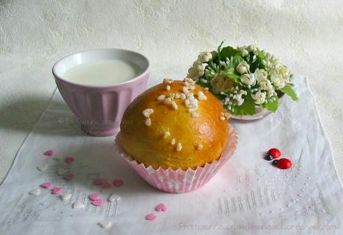 recette de la brioche allemande butchy ou butchlen avec de la crème