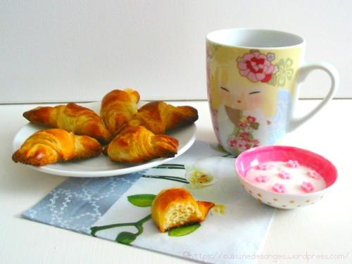 recettte simplifiée et technique facile pour faire des croissants maison