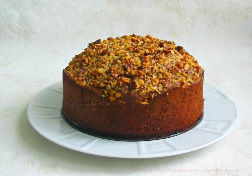 Le Cenwenoix recette de base, gâteau aux noix et chocolat servant de base à l inspiré d'une spécialité régionnale de Bourguoin Jallieu