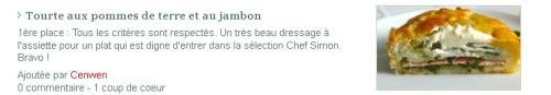 recette du pâté de pommes de terre au jambon, recette du Limousin,