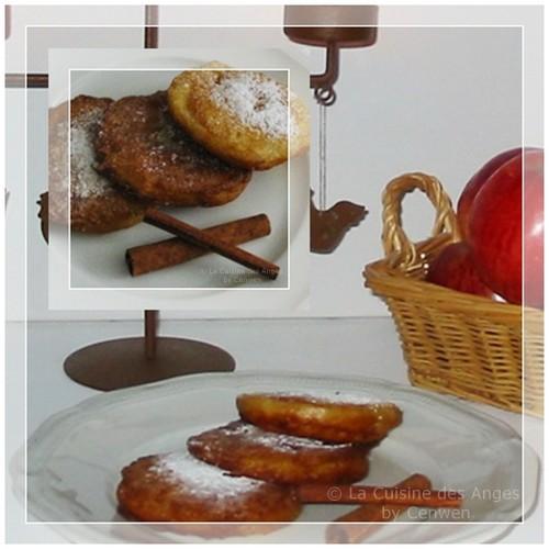 Recette économique de beignets aux pommes à la cannelle