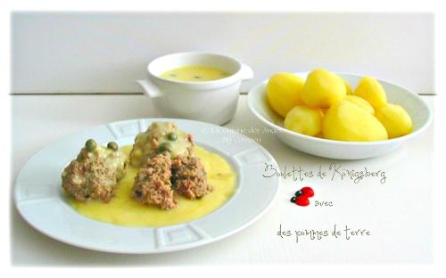 recette économique de boulettes à base de viande de boeuf et porc hachées avec des anchois et des lardons