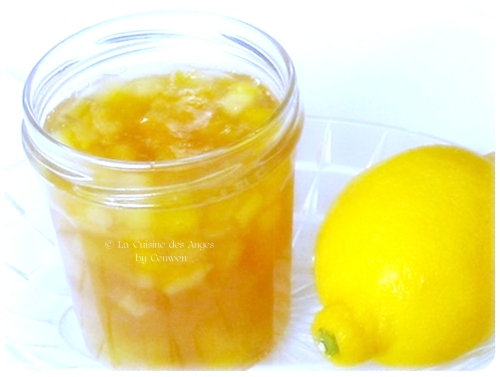 recette économique de gelée de citrons faite maison