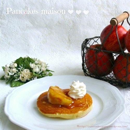 Recette économique de pancakes avec une pâte au yaourt