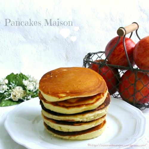 recette économique de pancakes au yaourt