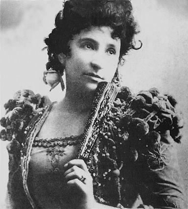 photographie de la cantatrice Nellie Melba