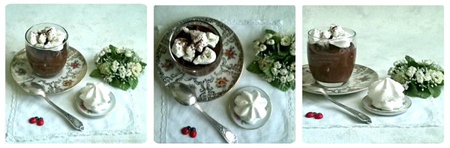 Crème au chocolat et à lameringue