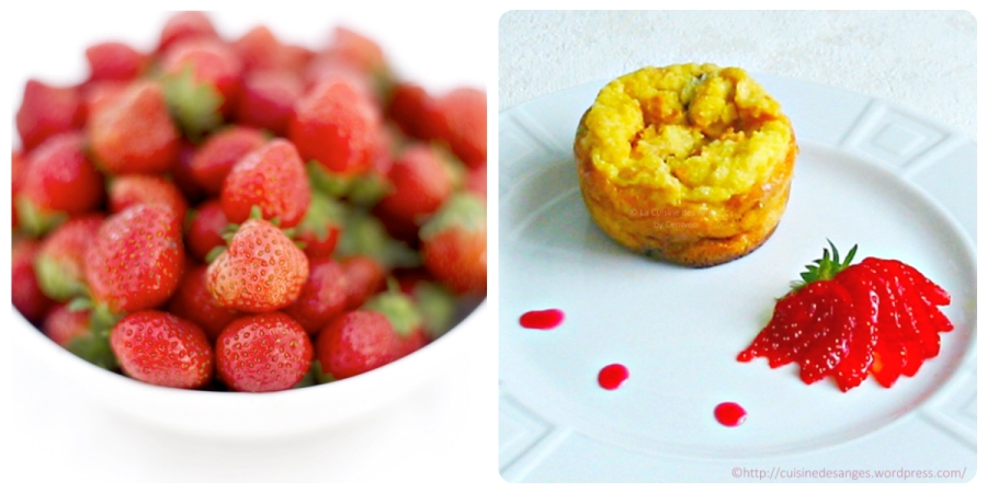Petits gâteaux de pain rassis auxcranberries