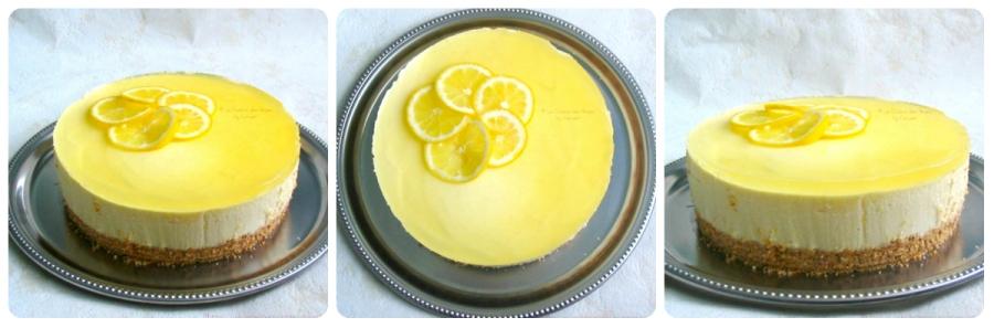reette de bavarois facile, bavarois au fromage blanc et au lemon curd sur une base de petits beurre de Lu