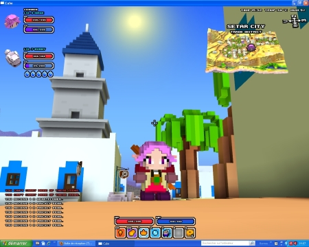 Cube World, personnage,
