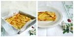 Recette facile et gourmande de gâteau aux pommes et aux abricots avec de la vanille