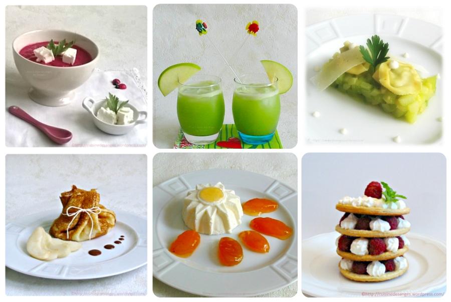 En Août, dans ma cuisine, je cuisine les fruits et légumes d'Août!