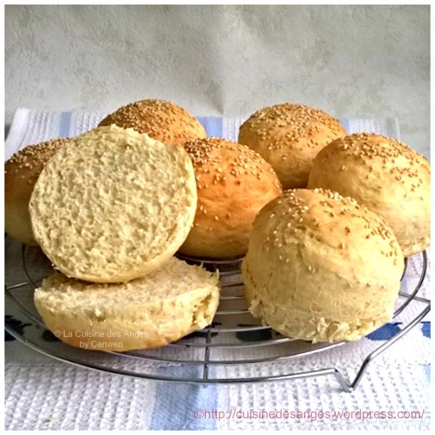 La meilleure recette de petits pains à hamburger !