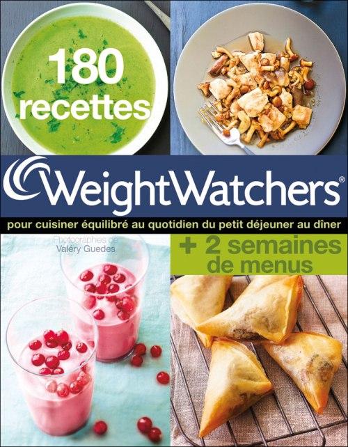 Couverture du livre 180 recettes Weight Watchers