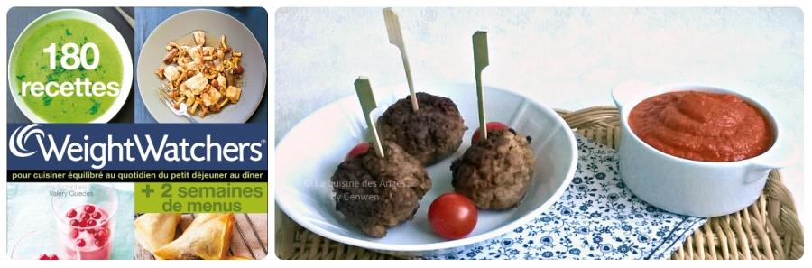 Croquettes de boeuf au boulgour et sauce tomateexpress