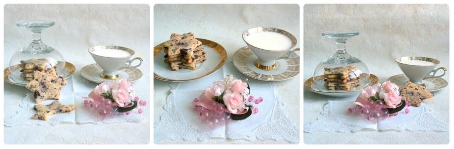 Biscuits aux copeaux dechocolat